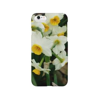 水仙 スイセン DATA_P_100 春 spring Smartphone cases