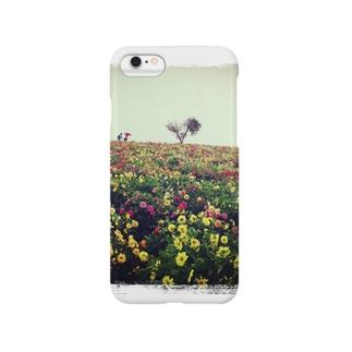 富良野の花畑 Smartphone cases