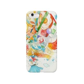 極彩色の世界をきみに Smartphone cases