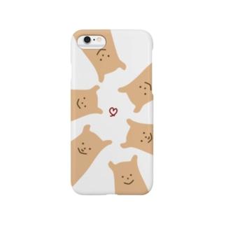 くまのビスケット Smartphone cases