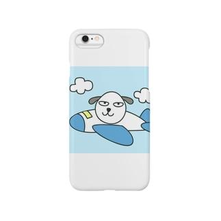 犬と飛行機 Smartphone cases