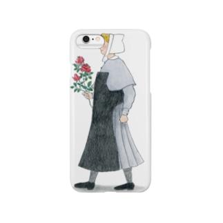 お花をどうぞ Smartphone cases