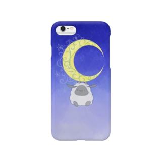 もふもふの夜 Smartphone cases