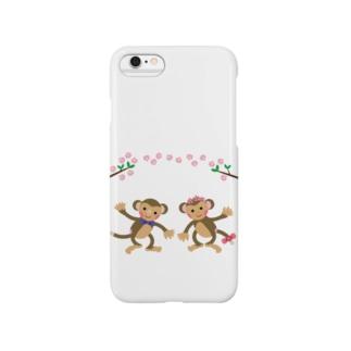 モンキーパンチ No.44 のお猿グッズ Smartphone cases