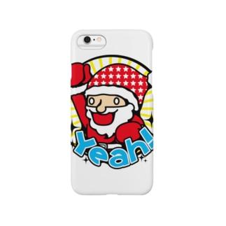 ハイテンションサンタ★クリスマスだYeah! Smartphone cases