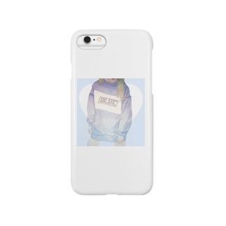 ぶるー。 Smartphone cases
