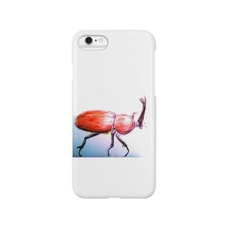 カブトムシ Smartphone cases