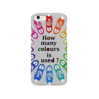 How many colours  is used ? スマートフォンケース