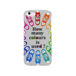 How many colours  is used ? Smartphone cases