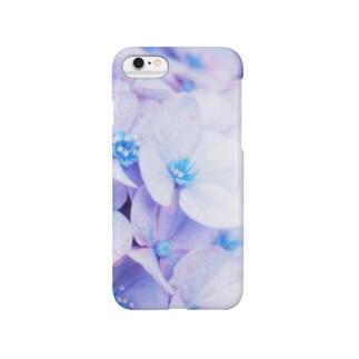 紫陽花。 スマートフォンケース