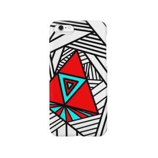 浮くさんかく Smartphone cases