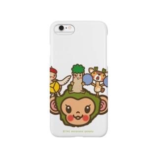 屋久島弁シリーズ 2:ヤクザル・ヤクシカ・ウミガメ・縄文杉キャラ Smartphone cases