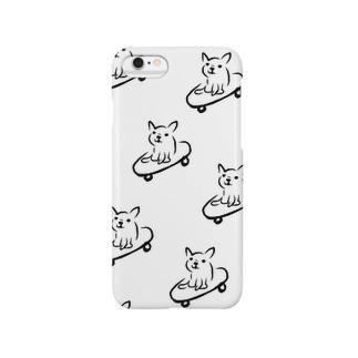 Skate board french bulldog スケートボード フレンチブルドッグ Smartphone cases
