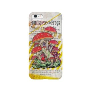 キノコハウスのiPhoneケース Smartphone cases