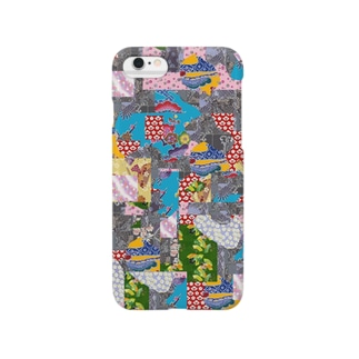 和柄 パッチワーク Smartphone cases