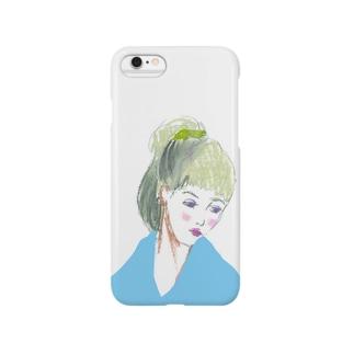 ぽっ Smartphone cases