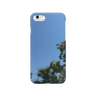 田舎の青空 Smartphone cases