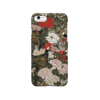 Peonies and Small Birds Smartphone cases