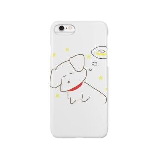 おねんねわんこ Smartphone cases