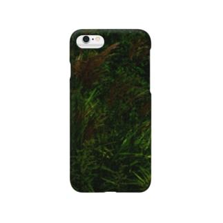 ススキ japanese pampas grass スマートフォンケース