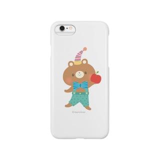りんごとくま Smartphone cases