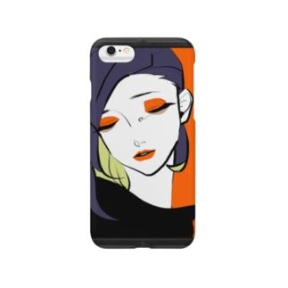 額縁の乙女 Smartphone cases