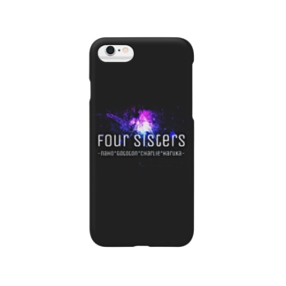 Four Sisters~Black~ Smartphone cases