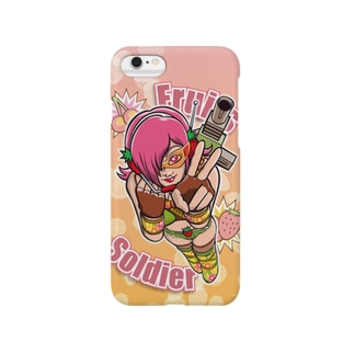 Fruits Soldier!! Smartphone cases