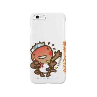 邑南町ゆるキャラ:オオナン・ショウ 石見弁Ver『笑わしんさる』 Smartphone cases