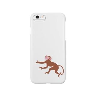 モンキーパンチ No.52 お洒落なサルのキャラクターグッズ Smartphone cases