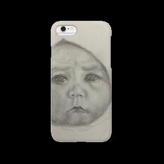 まわるおすしのデッサンベイビー Smartphone cases