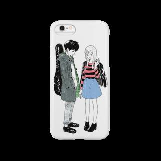 やぼの街でみかけたかわいい子たち Smartphone cases