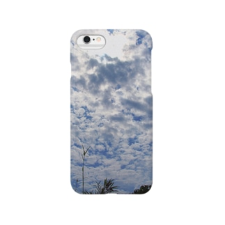 hiroki-naraの空と雲 DATA_P_124 sky cloud Smartphone cases