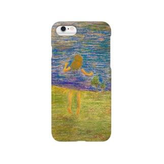 空模様ワンピース Smartphone cases