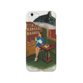 喫茶店の女性 Smartphone Case