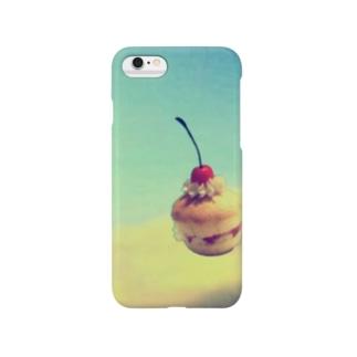 浮遊するチェリーマフィン Smartphone cases