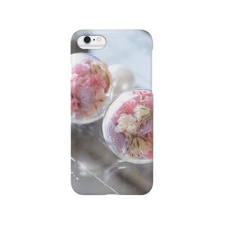アンティークピンク Smartphone cases