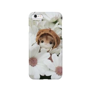 お花畑のカラハムちゃん Smartphone cases