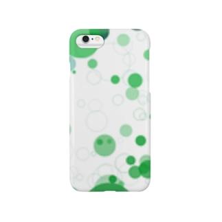 グリーンシャワー Smartphone cases