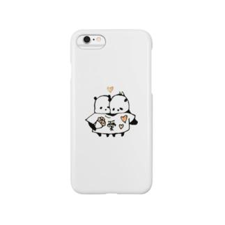 リア充なパンダ Smartphone cases