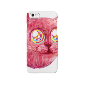 跳ぶネコ Smartphone cases
