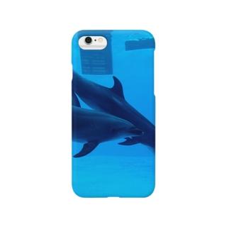 イルカさん Smartphone cases