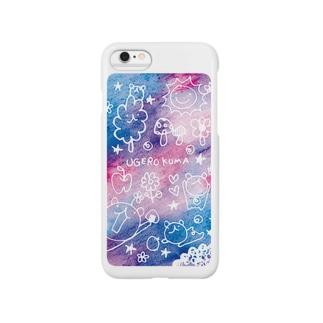 【iPhone6s/6、plus用】ウゲロ空間・青紫 Smartphone cases