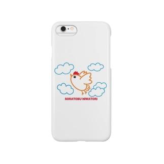 ニワトリだって飛びたい! Smartphone cases