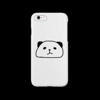 こんそめぱんだのシンプル過ぎるくらいがちょうどいいぱんだ Smartphone cases