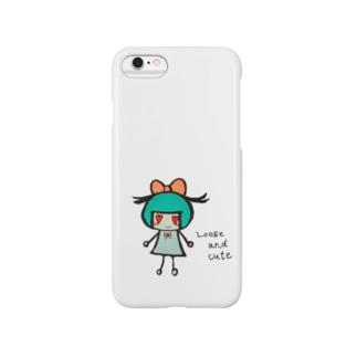 リボンちゃん Smartphone cases
