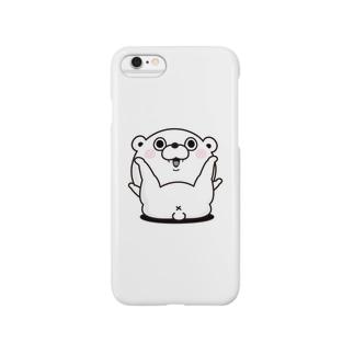 くま100% X Smartphone cases