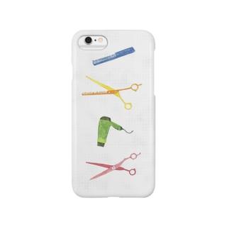 かみをととのえるどうぐ Smartphone cases