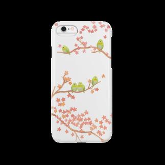 Hitomi-Inoueのさくらめじろ Smartphone cases