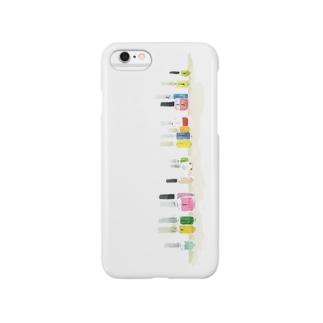 カラフルマニキュア Smartphone cases